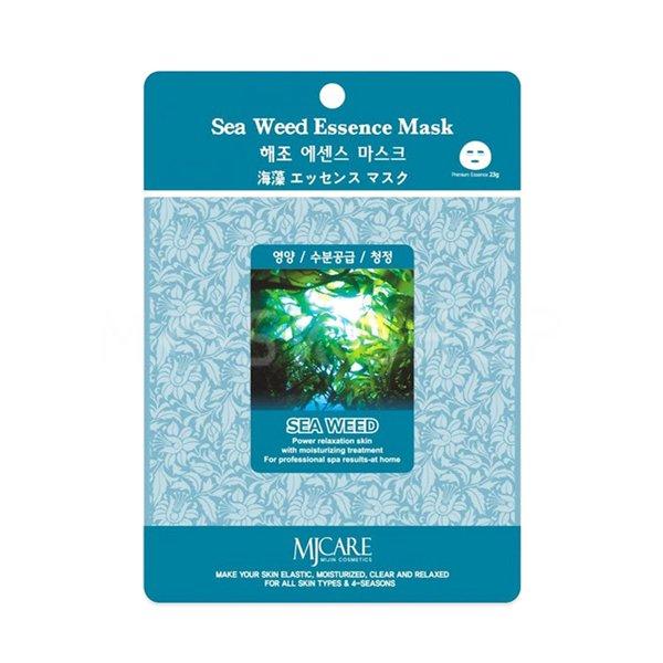 Тканевая маска с морскими водорослями Mijin Sea Weed Essence Mask