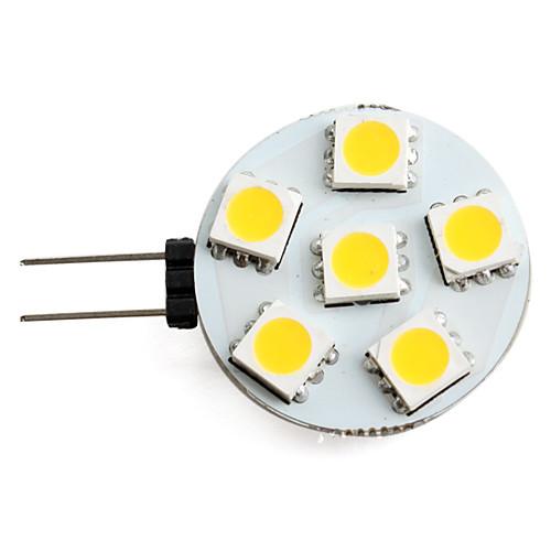 Точечное LED освещение 150 lm G4 6 Светодиодные бусины SMD 5050 Тёплый белый 12 V / #