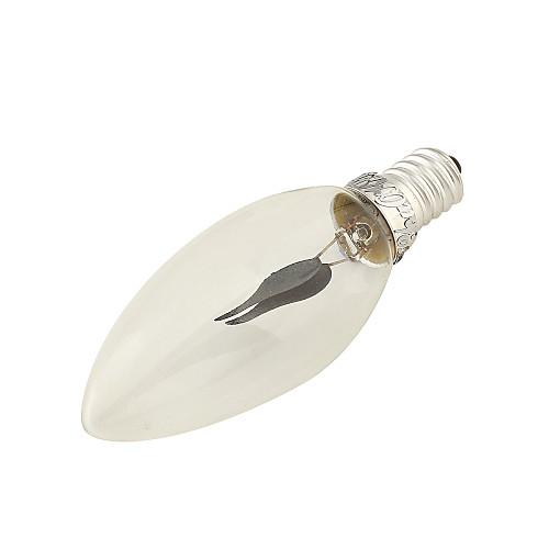 Шт LED лампы накаливания 150 lm E14 2 Светодиодные бусины Декоративная Красный 220-240 V / 1 шт. / RoHs