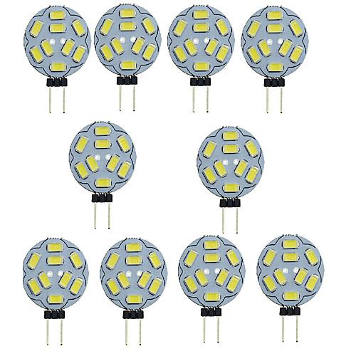 Шт. 1.5 W Двухштырьковые LED лампы 150-200 lm G4 T 9 Светодиодные бусины SMD 5730 Декоративная Тёплый белый Холодный белый 12 V / RoHs