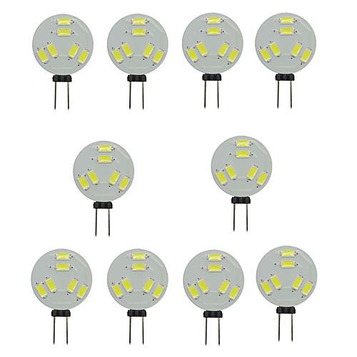 Шт. 1.5 W Двухштырьковые LED лампы 150-200 lm G4 T 6 Светодиодные бусины SMD 5730 Декоративная Тёплый белый Холодный белый 12 V / RoHs