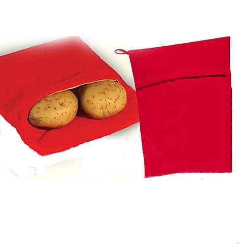 Моющаяся сумка для варки запеченный картофель микроволновая печь приготовление картофеля быстро быстро
