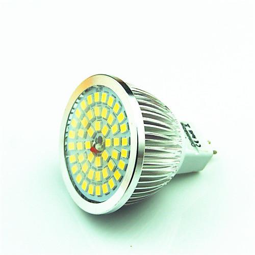 Шт 3 W Точечное LED освещение 150-200 lm GU5.3(MR16) MR16 48 Светодиодные бусины SMD 2835 Декоративная Тёплый белый Холодный белый 12 V / 1 шт.