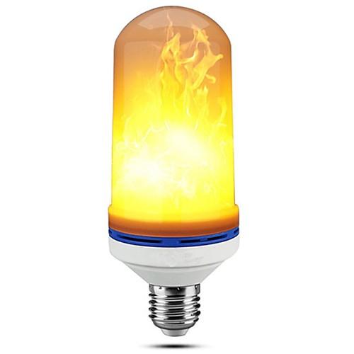 Шт 5 W LED лампы типа Корн 150 lm E27 99 Светодиодные бусины SMD 2835 Диммируемая Декоративная Пламя мерцания Тёплый белый 85-265 V / RoHs