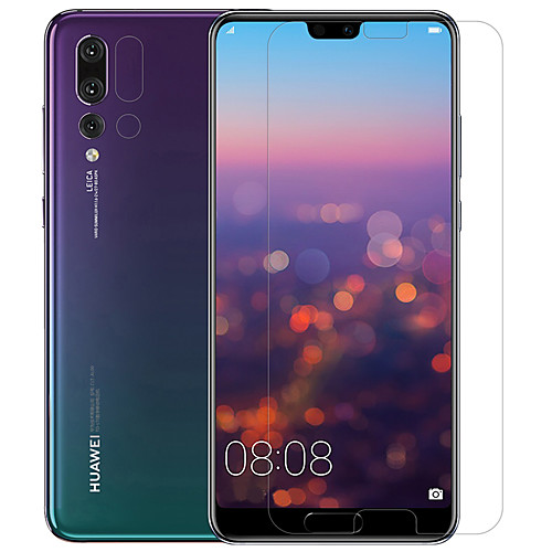 Защитная плёнка для экрана для Huawei Huawei P20 Pro PET 2 штs Протектор объектива спереди и камеры HD / Ультратонкий / Защита от царапин