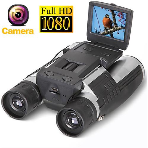 Цифровая бинокулярная телескопическая камера 5mp cmos sensor 2.0 \'\' tft full hd 1080p dvr фото видеозапись usb бинокль