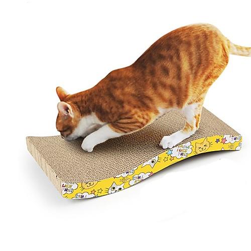 Царапины Двусторонний Вырезы UltraLight Переработанная бумага Назначение Коты