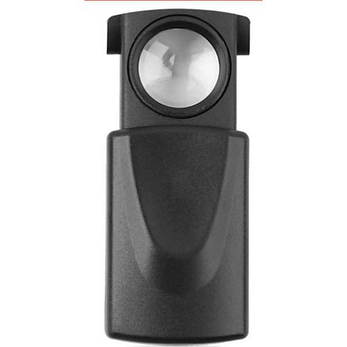 Новинка 10-кратное увеличение, черный микроскоп, светодиодная складка для глаз