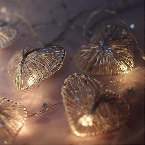 Новинка любовь сердце свадьба фея рождество светодиодный бар стены окна строка света крытый вечеринка сад гирлянды освещение 2 м