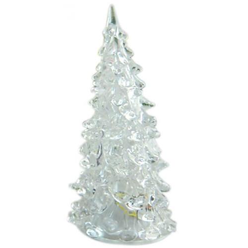 Новинка акриловые елки светодиодные фонари обесцветить новогодняя лампа для праздников аксессуары