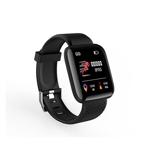 Универсальные Смарт Часы Android iOS Bluetooth Smart Спорт Пульсомер Измерение кровяного давления Сенсорный экран