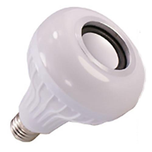 Новинка умный bluetooth музыка лампочка светодиодные красочные динамик лампочка e27 беспроводной пульт дистанционного управления аудио лампочка