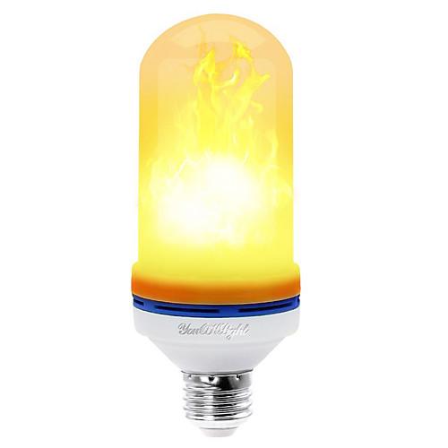 Шт 4 W LED лампы типа Корн 360 lm E26 / E27 T 99 Светодиодные бусины SMD 2835 Декоративная Желтый 85-265 V / RoHs / FCC