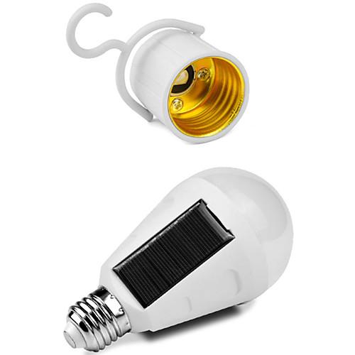 Новинка портативный солнечный светодиодные лампы E27 7 Вт перезаряжаемый кемпинг палатка аварийный свет поездки туризм рыбалка фонарь