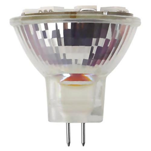 Новинка 2 шт. светодиодные лампы галогенные лампы эквивалентное основание переменного / постоянного тока теплый белый 3000 К светодиодные лампы аа