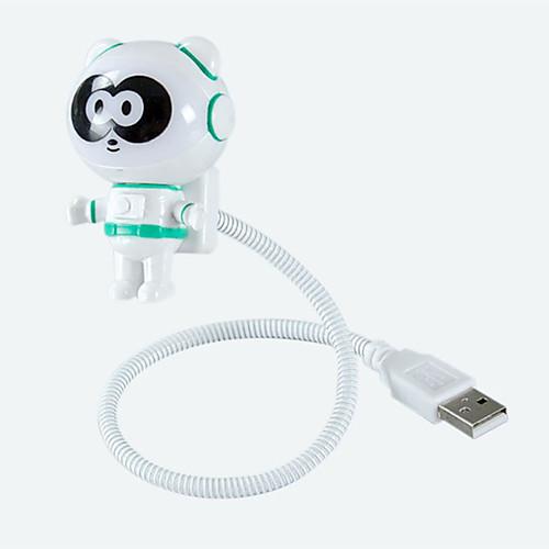 Новинка новый стиль панда usb светодиодный регулируемый ночной свет для компьютера пк лампы настольный свет