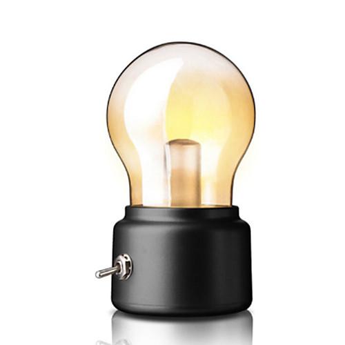 Новинка творческий usb ночник ретро лампа светодиодная перезаряжаемая лампа металлический выключатель лампы атмосфера лампа винтажный арт стол