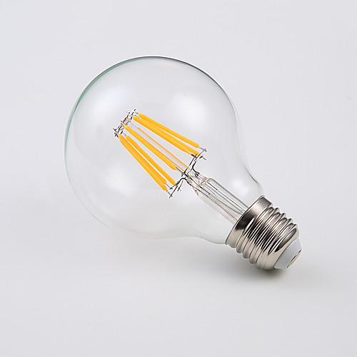 Вт светодиодные лампы земного шара 400 лм E26 / E27 A65 8 светодиодные шарики початка холодный белый теплый белый 220-240 В 4 шт.