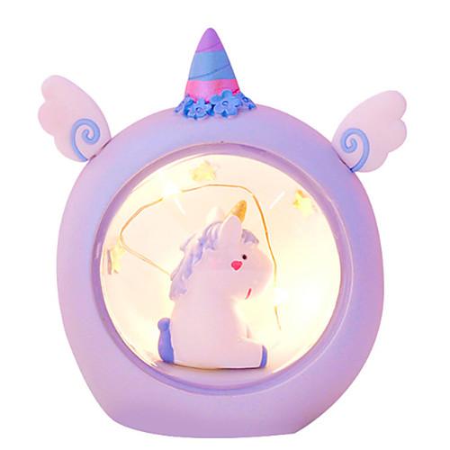 Новинка творческий звездный ангел мини ночник единорог ночная лампа для украшения дома светодиодные настольные лампы милый детский подарок