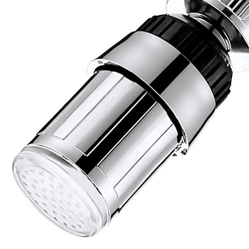 Новинка новая кухонная раковина 7 изменение цвета воды свечение поток воды душ светодиодный кран кран свет