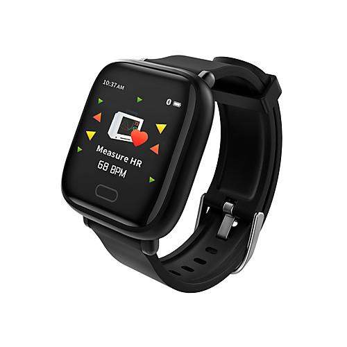 Универсальные Смарт Часы Android iOS Bluetooth Водонепроницаемый Пульсомер Измерение кровяного давления Сенсорный экран Израсходовано калорий