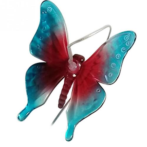 Новинка новый изменение цвета светодиодные солнечные колокольчики лампы водонепроницаемый бабочка солнечной энергии света для домашней вечеринки садовый декор