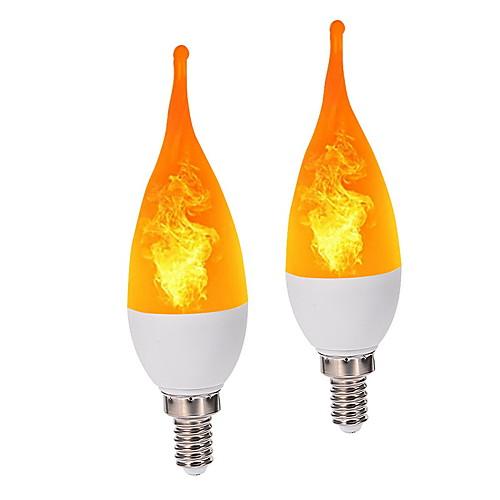 Новинка ip42 e12 пламя света свечи три режима освещения режим светодиодная лампа лампа свеча люстра для внутреннего дома