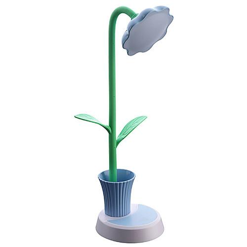 Новинка подсолнух ручка держатель лампы для чтения книг защиты глаз светодиодные складные детские лампы настольная лампа
