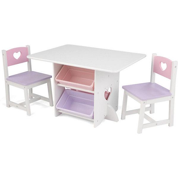Комплект мебели KIDKRAFT HEART