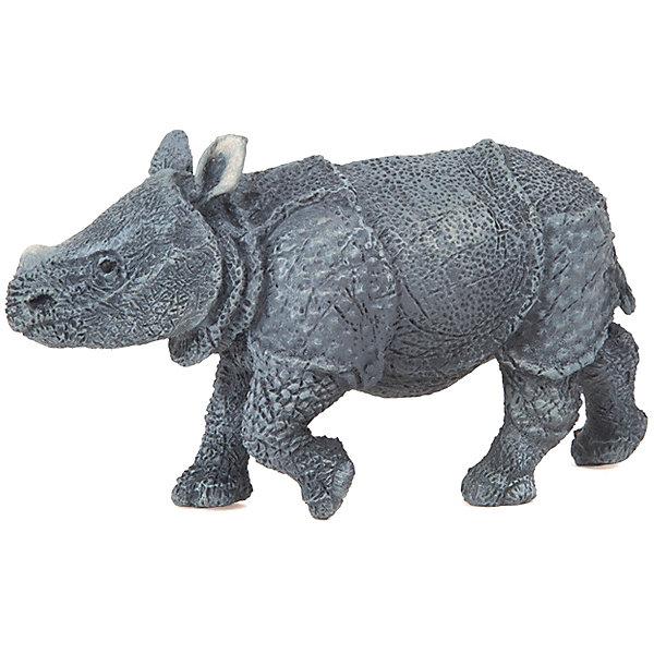 Игровая фигурка PaPo Детёныш индийского носорога