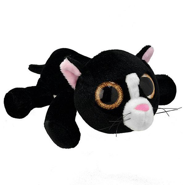 Мягкая игрушка Wild Planet Черный кот, 25 см