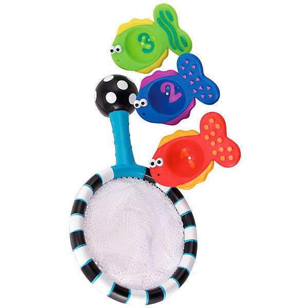 Набор игрушек для ванны Sassy Сачок с рыбками