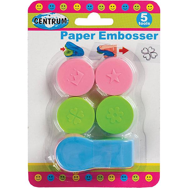 Набор для тиснения бумаги (5 насадок)