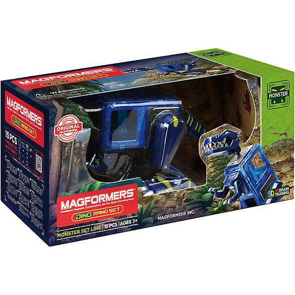 Магнитный конструктор 716003 Dino Rano set, MAGFORMERS