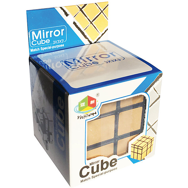 Головоломка Зеркальный Кубик Золото