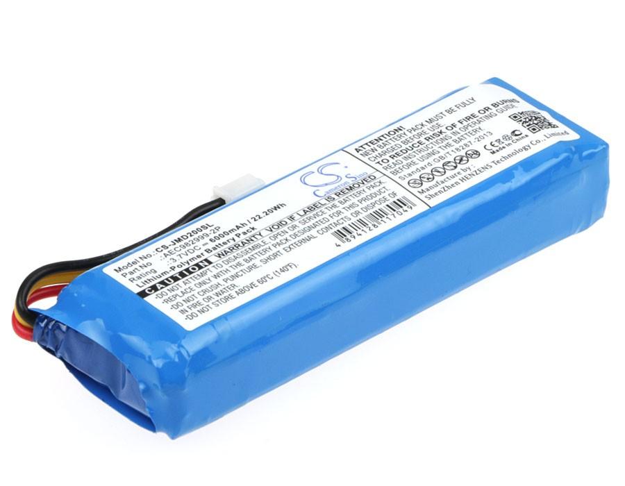 Аккумулятор CameronSino для JBL Charge 6000mah