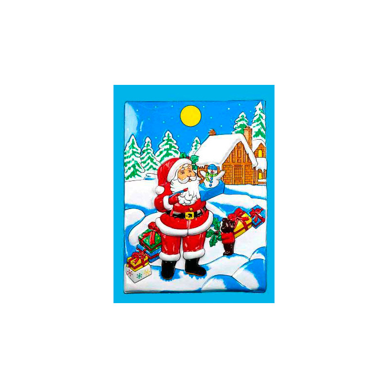 Панно Дом Деда Мороза (37х53 см)