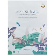 Маска для сияния кожи SHANGPREE Marine Jewel Illuminating Mask 30 мл (5 шт. в наборе)