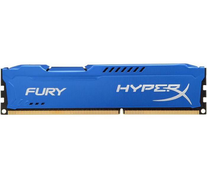 Модули памяти KINGSTON HYPERX FURY BLUE SERIES PC3-15000