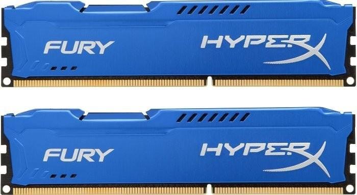 Модули памяти KINGSTON HYPERX FURY SERIES PC3-12800 DIMM DDR3