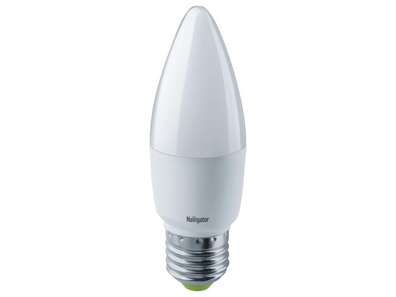 Лампочка Navigator 61 327 NLL-C37-8.5-230-2.7K-E27-FR