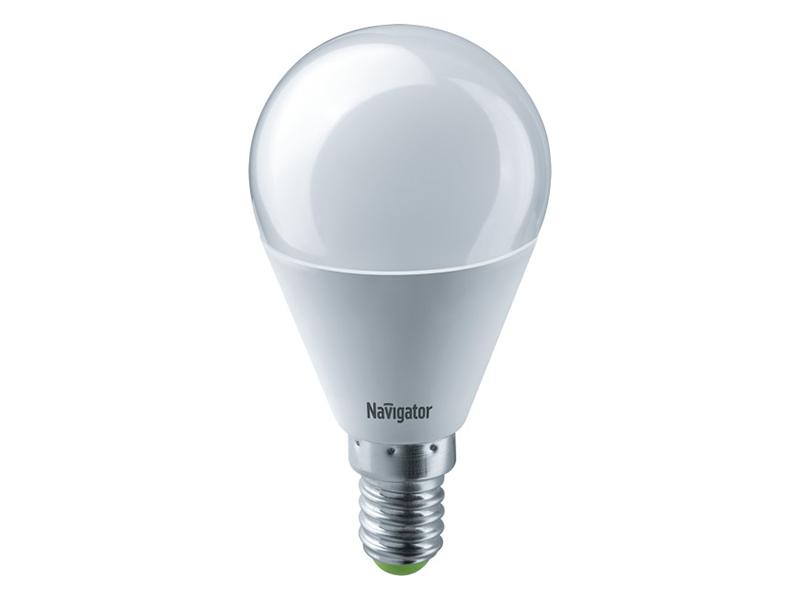 Лампочка Navigator 61 335 NLL-G45-8.5-230-6.5K-E14