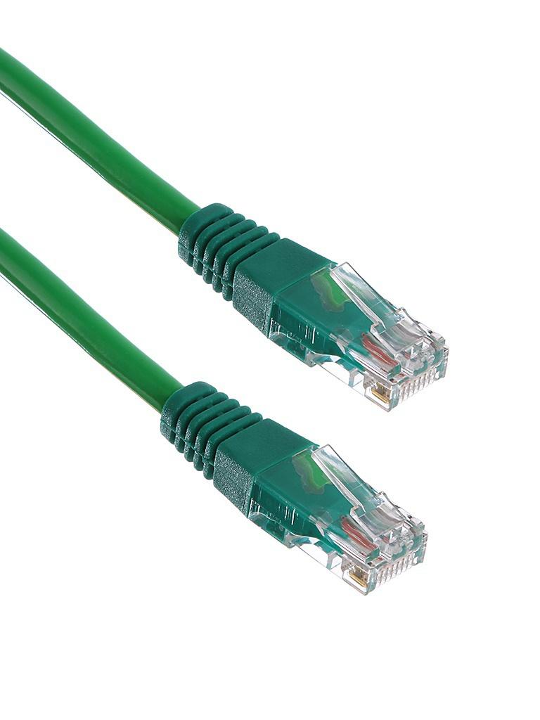 Сетевой кабель ExeGate UTP cat.5e 0.5m Green 258383