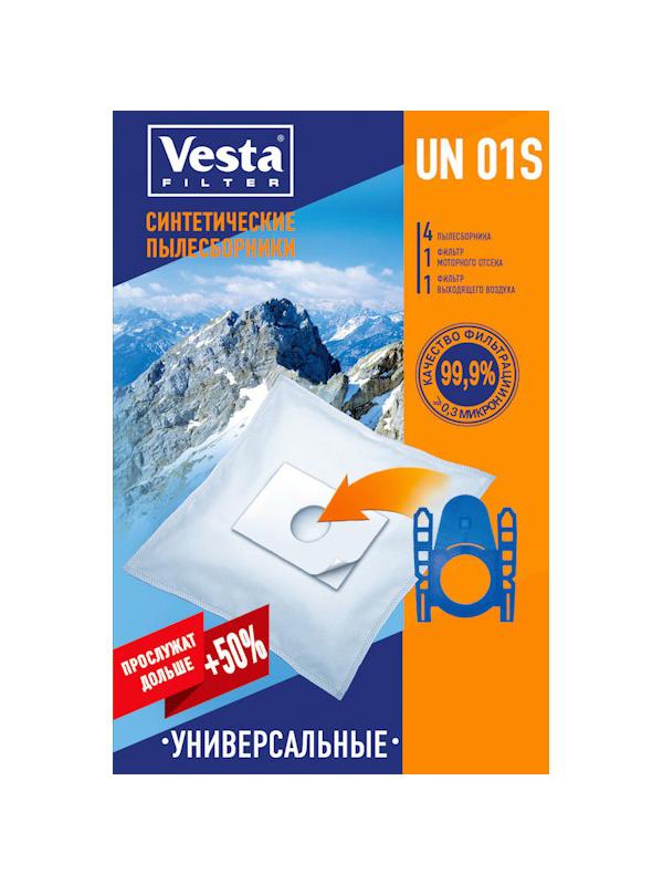 Мешки пылесборные VESTA FILTER UN 01 S