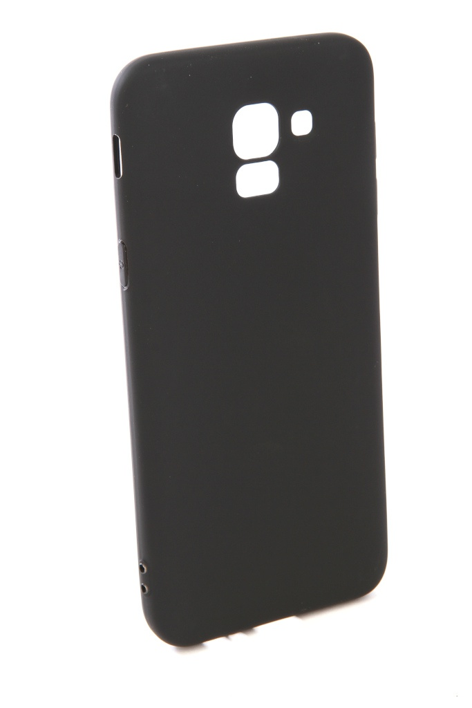 Чехол Pero для Samsung Galaxy J6 2018 Soft Touch Black PRSTC-J618B