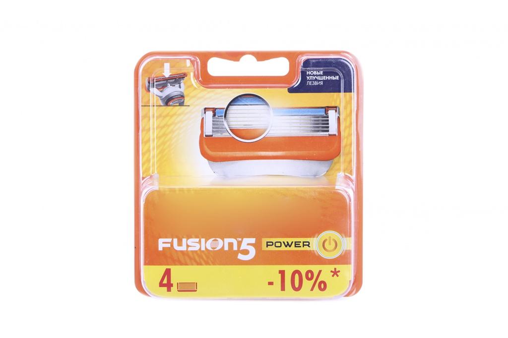 Сменные кассеты Gillette Fusion Power 4 шт 81372246