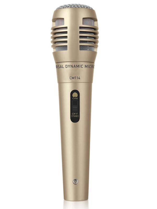 Микрофон для компьютера белый BBK CM114