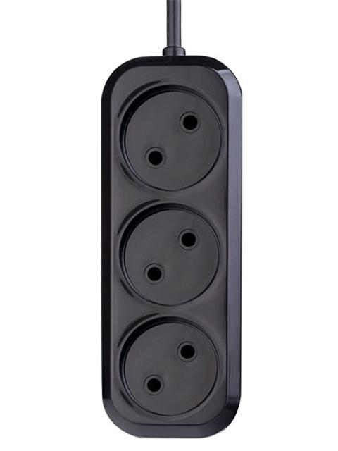 Сетевой фильтр Perfeo Power P16-012 3 Sockets 1.5m Black PF_B4065