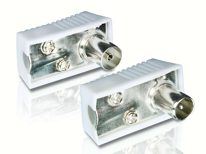 Комплект разъёмов Philips PAL M/F Connector SWV2561W/10