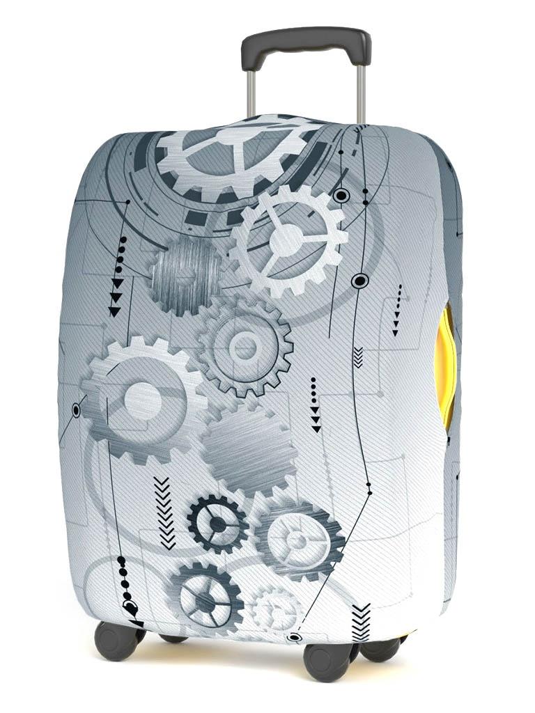 Чехол для чемодана RATEL Art Moments размер S Mechanics